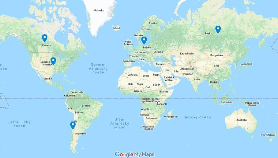 kysané zelí mapa