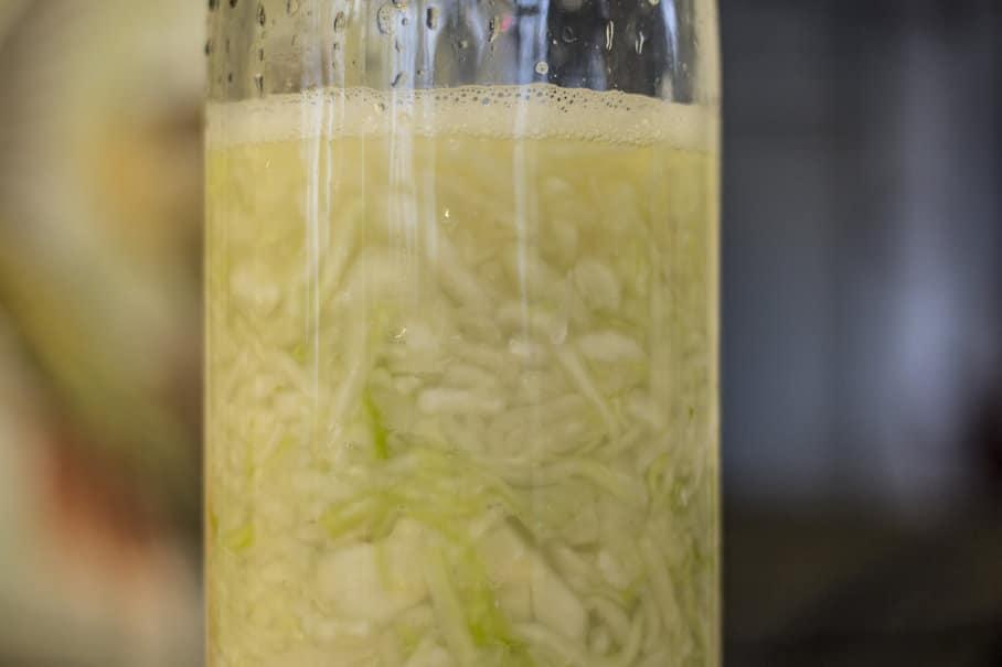 kysané zelí s nálevem