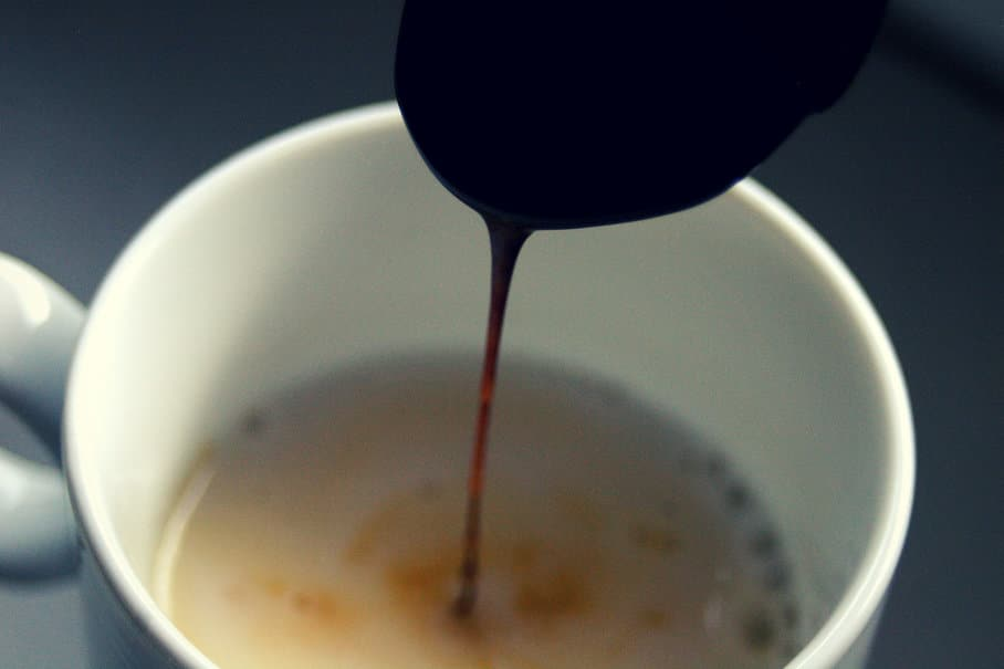 melasa v mléce
