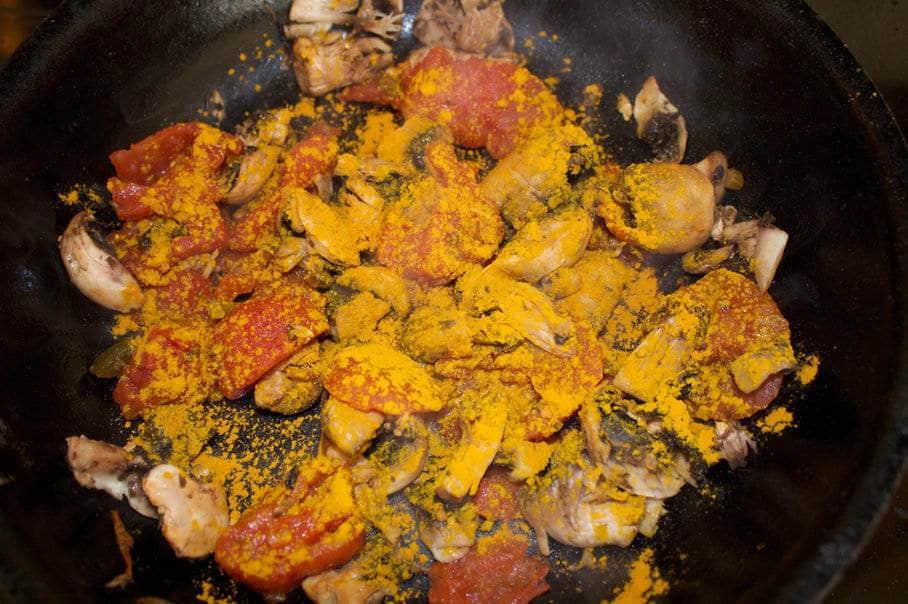 pokrm s kurkumou