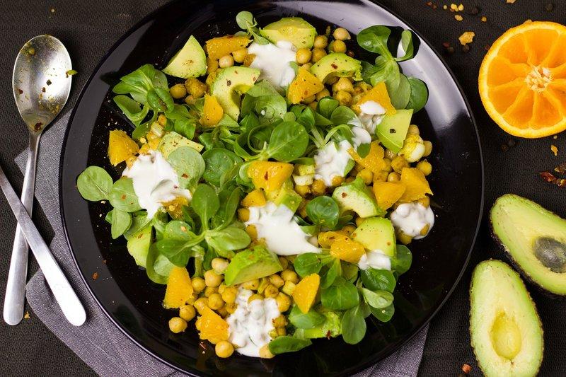 salát z avokáda