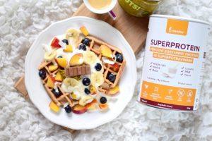 wafle s blendea superproteinem