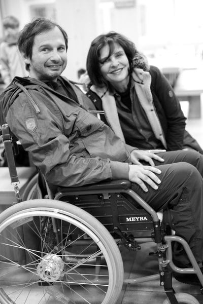 Vláďa s Janou Krausovou
